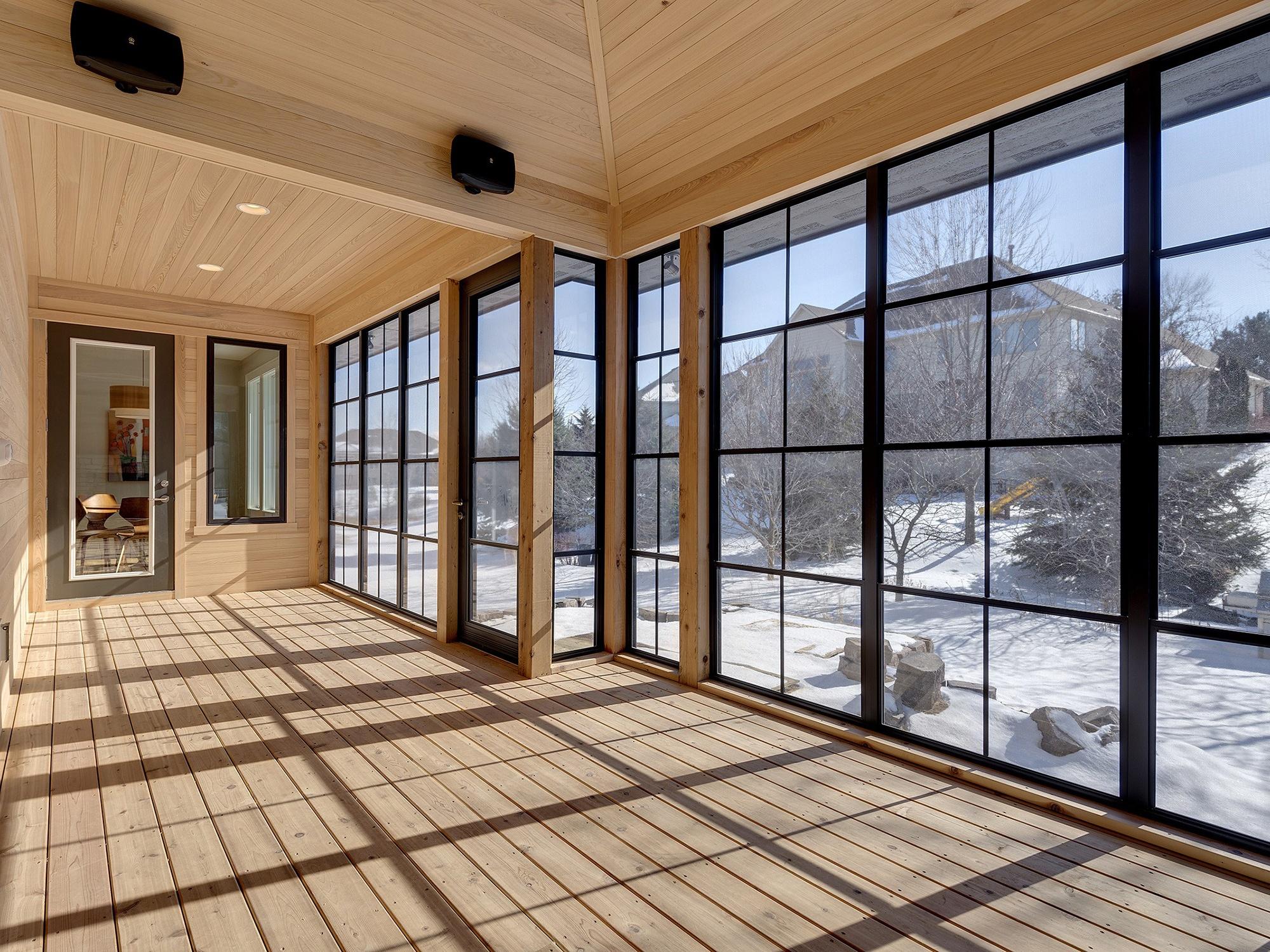 Sunspace Porch Windows