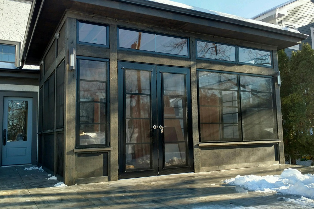 Sunspace Porch Entry Doors