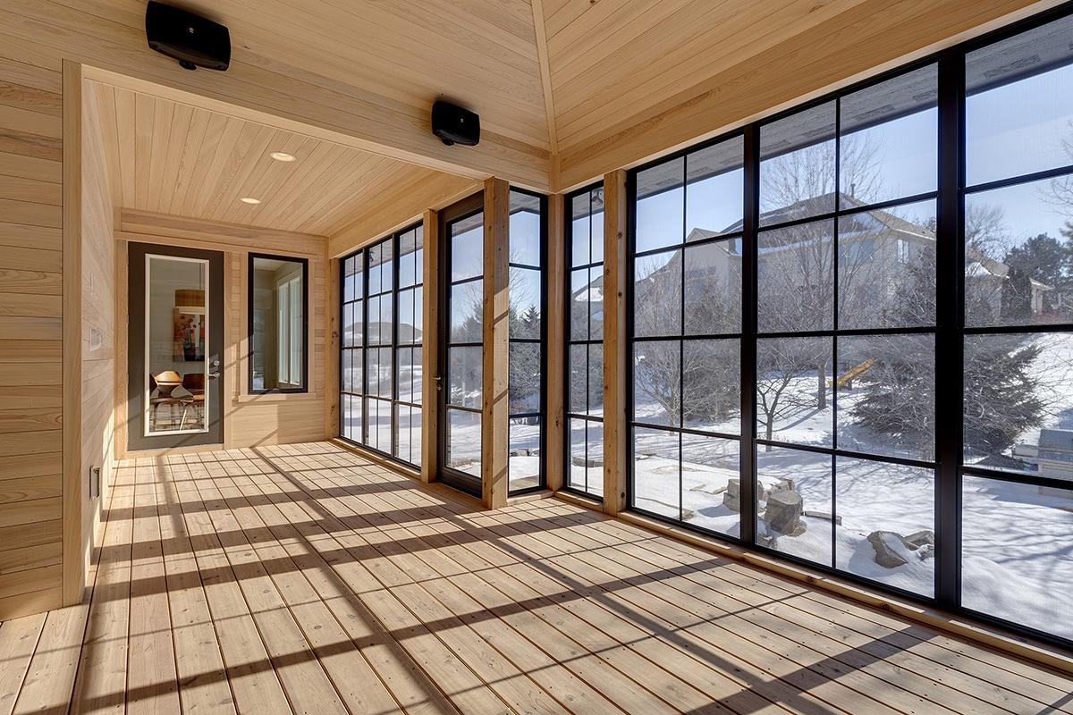 Sunspace Vertical Track Windows