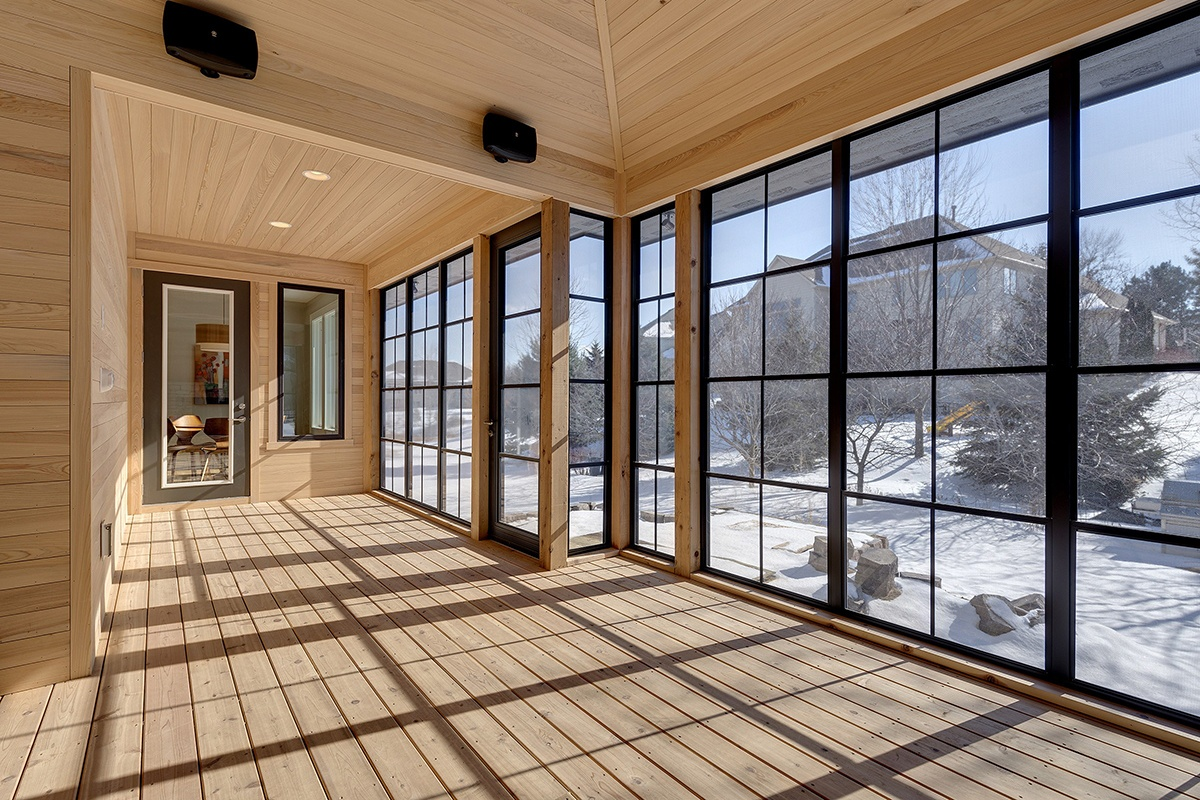 Sunspace Vertical Track Windows