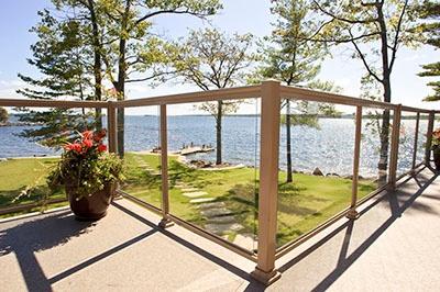 Sunspace Porch Railing System