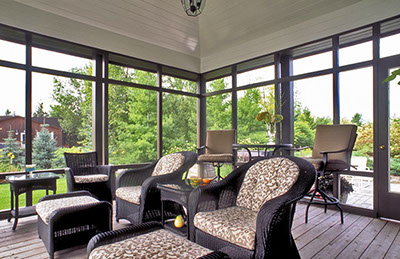 Sunspace Twin Cities WeatherMaster Porches