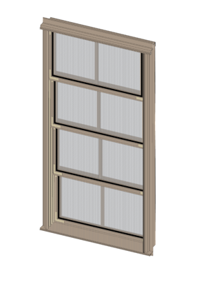 Single Vertical Porch Window